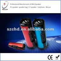 portable speaker with FM radio,TF card and U disk slot