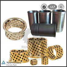 stainless steel bushing bronze CNC precision copper bushing