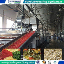 fruit and vegetable drying processing production line / food drying machine
