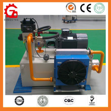 Electric driven exported hydraulic pump station for motors