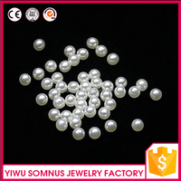 10000pcs/bag 3mm White round pearl no hole loose paroque pearls