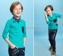 kids t shirt/children apparel shirrts/7-14cotton polyester breathable tee