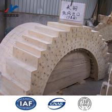 all different size high alumina bricks refractory