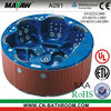 outdoor spa acrylic lucite whirlpool small for 6 people hot whirlpool massage sexy tub A091