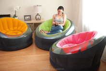 Camping in comfort Inflatable PVC chair