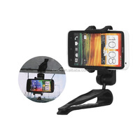 For GPS PSP Mobile Phone Universal Car Sun Visor Mount Holder
