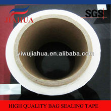 Resealable Bag sealing tape with PE red liner for OPP bag seal