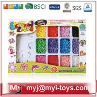 Meiyijia Direct selling hama plastic ironing beads education city games kids from China for kids BT-0057C