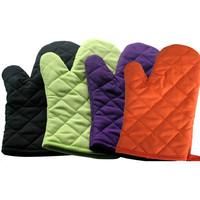 various pattern professional cotton promotion oven glove