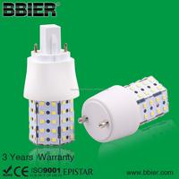 High lumen CFL replaced smd G23 6w marine led 360degree