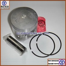 High performance Aluminum alloy for YAMAHA motorcycle TZR150 59mm piston and rings kit