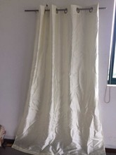eyelet window curtain