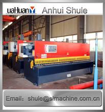 Hidráulico E20 máquina de corte da guilhotina voltar medidor, Guilhotina de plástico cortador de 4 mm