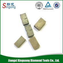 Super Soft Bond Diamond Segment For Hard Granite Cutting ( Indian Red,black granite)