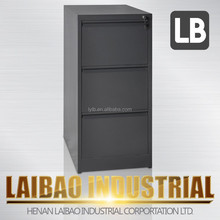 Office furnture 3 drawer metal filing cabinets (KD) stainless steel file cabinet