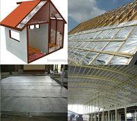 Silver inside foam sandwich Thermal insulation building materials