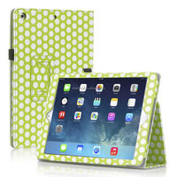 Polka Dot Stand Leather Case For iPad 5 iPad5