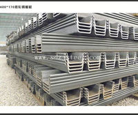 high quality hot roll steel sheet pile used for retaining walls