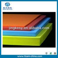 High elasticity colorful eva foam sheet/EVA PE foam/EVA ROLL high density polyurethane foam