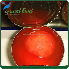 580ml Chinese delicious peeled tomato in tin
