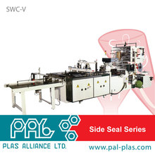 Taiwan made side seal chicken/autopacking/deli bag making machine