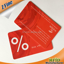 business nfc card printed foil