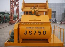 Top Quality electric automatic concrete mixer JS750