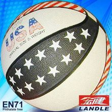 official size 7 new style rubber chinese US basketball