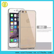 silicone case for phone 6/6 plus 2015 factory price tpu transparent phone case with card slot for phone 6 cover