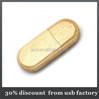 bulk maple material make natural wooden usb 2.0 flash drive