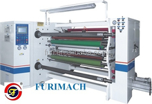 FR-261 Optical Material Auto Double Shafts Tape Slitting Rewinding Machine/PLC Touch Panel