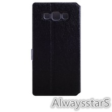 High Quality Wallet Leather Flip Back Cover for Samsung Galaxy A3 A300FU Case