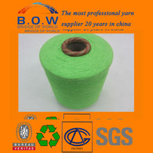 blended Yarn recycle OE cotton yarn for sofa upholstery fabrics