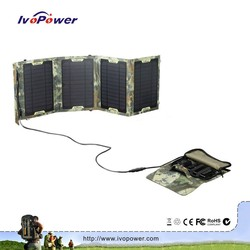 IVOPOWER patented detachable solar panel chargers waterproof portable solar panel