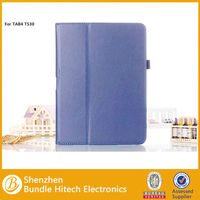 PU leather tablet stand case for samsung tab 10.1 P5100 P7500