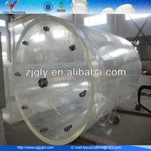 fish tank round glass