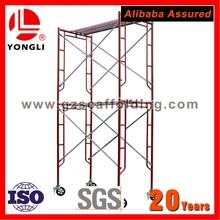 Cheap Light Weight Tubular Steel H Frame Scaffolding