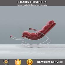 Genuine Leather Luxury Rocking recliner chair