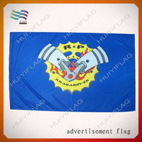 kinds of embroidered fireproof flags