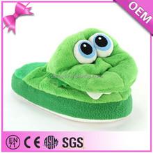 Custom plush slipper, OEM plush animal slippers, plush toys for crane machines