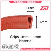 10*16 mm vinyl edge trim for 1-4 mm panel sealing