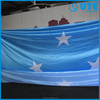 Big size flag, custom large size fabric banner, knitted Polyester flag