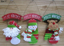 "Factory Direct Production ""Christmas Craft"" With Wooden Word Plate"
