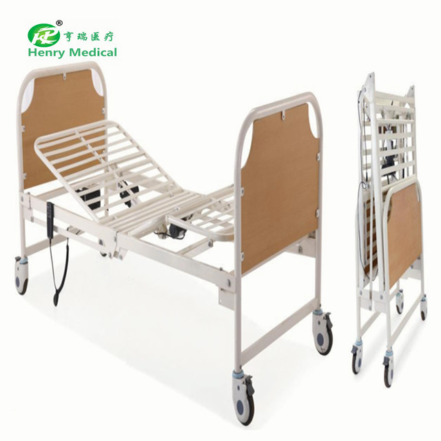 Automatic folding electric nursing home bed
