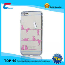 Hot selling top quality Soft gel TPU case for iPhone6 Apple, phone case for Apple