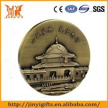 Low price custom metal medal plating ancient bronze