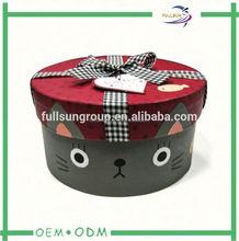 hinged cardboard gift box