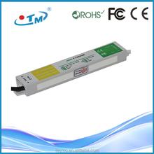 Voltage regulator 220v 12v, ip67 waterproof constant voltage 1500ma 12v 20w led power supply with CE,FCC