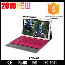 Ultra-thin leather bluetooth keyboard cover for ipad 2/3/4