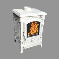 New Arrival CE Certified Ivory Wood Burning Stove, Wood Burner, Wood Heater